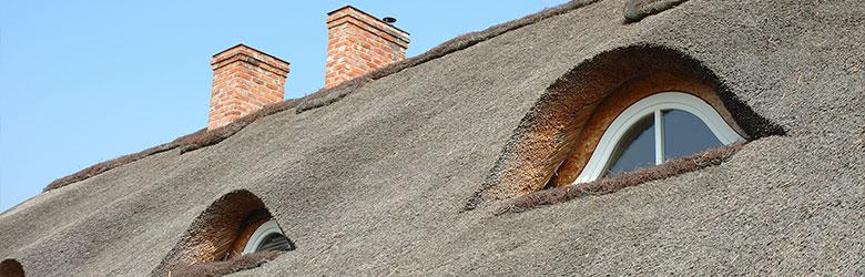 rieten dak Etterbeek